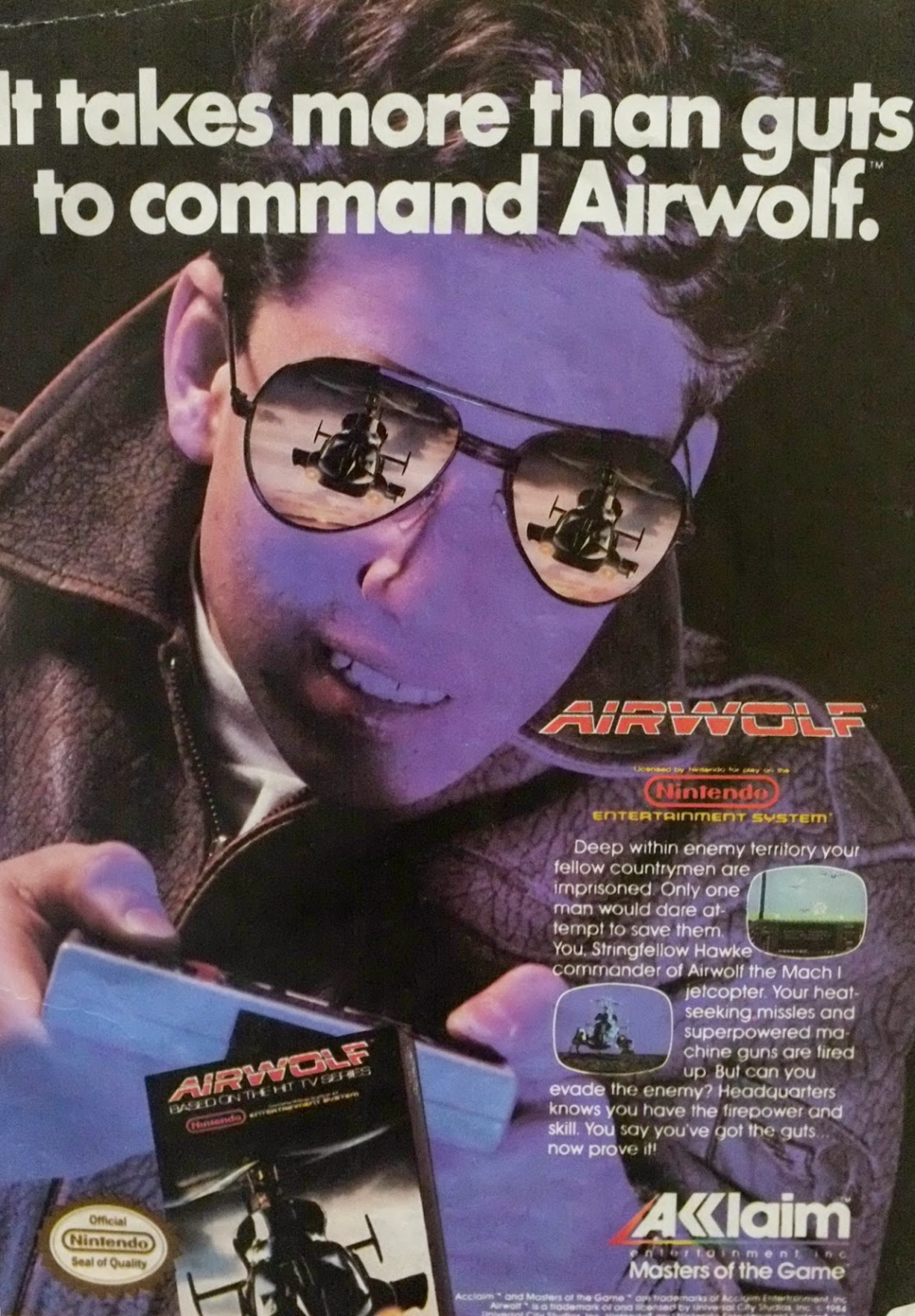 Image result for air wolf game nes